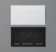 typo #Business #Card #creative #paper #businesscard <<< repinned by www.BlickeDeeler.de