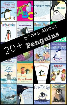 Books About Penguins.