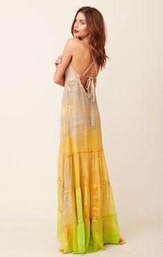 Michelle Jonas Chiffon Dress on Planet Blue