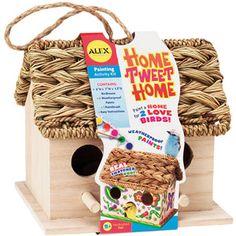 ALEX Toys - Home Tweet Home Birdhouse Kit $10