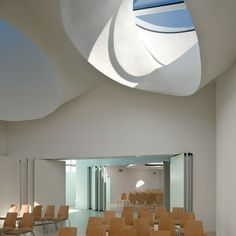 Martin Luther Church Hainburg by Coop Himmelb(l)au  #architecture #religious-buildings