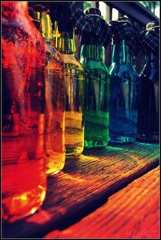 Just love light through coloured glass