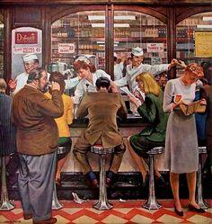 Lunch Counter - John Philip Falter
