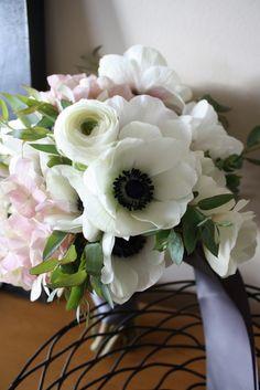 Wedding Florals: Anemones
