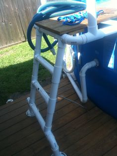 PVC ladder - need this for the trampline