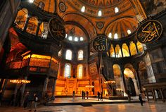 Behold Hagia Sophia - a statuesque gem of Istanbul, Turkey.