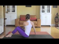 ▶ Yoga Workout For Abs - Day 4 - 30 Day Yoga Challenge - YouTube