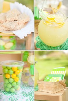 One Charming Party | Birthday Party Ideas › Lemonade Stand