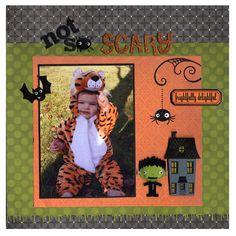 Halloween Costume Kid Layout
