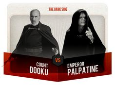 This is Madness - Count Dooku vs. Emperor Palpatine - VOTE @ http://starwars.com/this-is-madness/index.html
