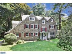 Stone center hall colonial in Chestnut Hill, PA. MLS 6439015. Brokered by: Elfant Wissahickon-Rittenhouse Square