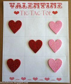 Valentine Tic-Tac-Toe (Printable)