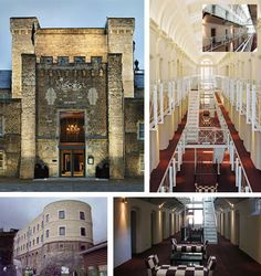 Converted prison-to-hotel in England