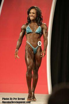 Tanji Johnson -- Olympia 2013