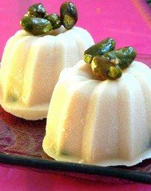 Receita de kulfi com rosas e pistaches - Como fazer sorvete: receitas fáceis de sorvete caseiro