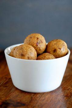 Pumpkin-Pecan Bites | #glutenfree #dairyfree #vegan