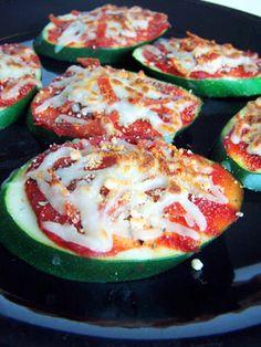 Zucchini Pizza Bites ~ 4wwpp