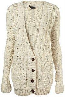 Chunky knit long cardigan - need!!