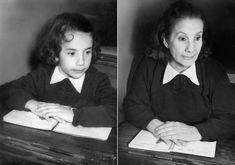 LUCIA in 1956 & 2010, buenos Aires. http://irinawerning.com/back-to-the-fut/back-to-the-future/