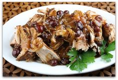 cranberry pork for the crock pot