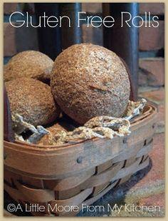 A Little Moore From My Kitchen: Gluten Free Rolls #gluten_free #gluten #celiac