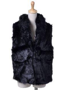 Anna-Kaci S/M Fit Black Short Animal Style Faux « Impulse Clothes