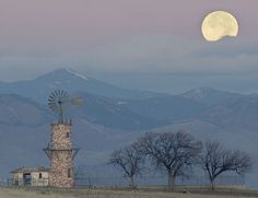 Moon over the Ranch
