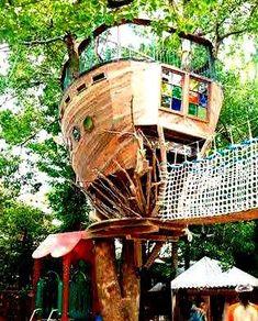 The Treehouses Of Japanese Designer Carpenter Tokashi Kobayashi - Takashi is a self taught designer carpenter of over 120 bespoke treehouses in Japan.