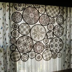 Lovely lace curtains