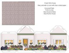 Cream Mini House