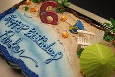 beach parti, beach theme, kid birthdays, beach birthday, babi beach, parti idea, kid birthday parties, theme kid, birthday cakes