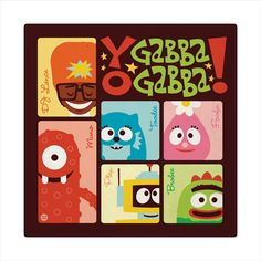 Yo Gabba Gabba by ~Montygog on deviantART