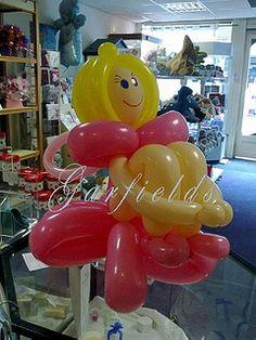 Balloon Fairy Model by Garfield's Balloons Weddings Tamworth, via Flickr.  #balloon #art #fairy #balloon #sculpture #fairy #balloon #centerpiece #fairy #balloon #column #fairy #balloon #arch #fairy #balloon #twist #fairy