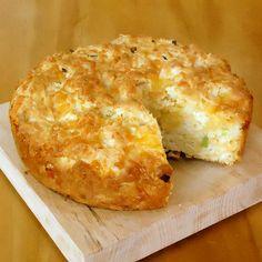 Gnarly Casserole Cheese Bread