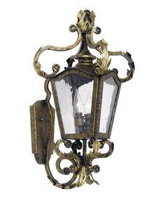 Castle Bronze French Quarter Outdoor Wall Lantern by Elk Lighting  $299 !!