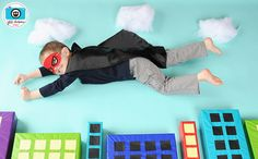 superhero photo shoot idea by kirstenreese, via Flickr