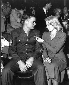 Lana Turner at The Hollywood Canteen