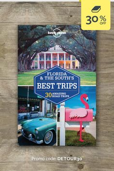Discover the freedom of the open road with Florida & the South's Best Trips. Whether you want to explore the Great Smoky Mountains, taste the best of Georgia BBQ or visit Disney World, we've got the trip for you. | CLICK THROUGH AND ENTER THE PROMO CODE FOR 30% OFF THIS TITLE #lproadtrip