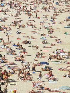 Xmas at Bondi beach