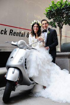 La boda de Man Repeller #boda #famosos