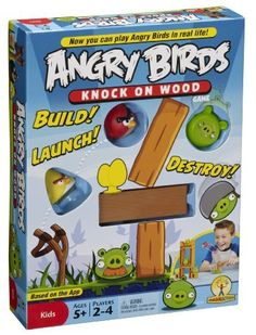 Angry Birds: Knock On Wood Game on http://giftideator.com