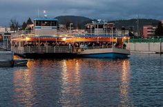 Bluefest on Lake Coeur d' Alene Cruises.  Lake Coeur d' Alene, Idaho