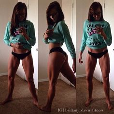Dreamy Gams #GirlsWithMuscles #Bodybuilding