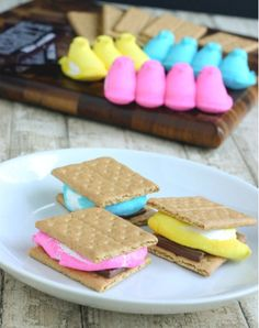 peep s'mores!  Heck yes!