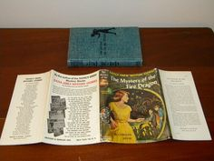 Vintage Nancy Drew 38 Mystery of The Fire Dragon HC DJ 1st Ed 1961A 1 Keene | eBay