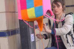 Jessie Hemmons: Street Artist & Yarnbomber, via the Official Pinterest Blog