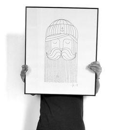 beard art, graphic, print design, design inpir, nice, facial hair, design studios, poster prints, illustr