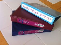 Recipe binders: A favorite gift for bridal showers.