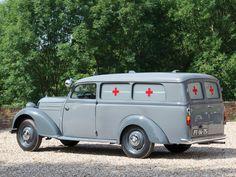 1954 Mercedes-Benz 170 S-V Ambulance #mbhess #mbclassic