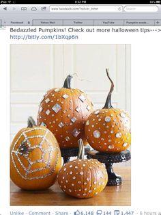 bedazzl pumpkin